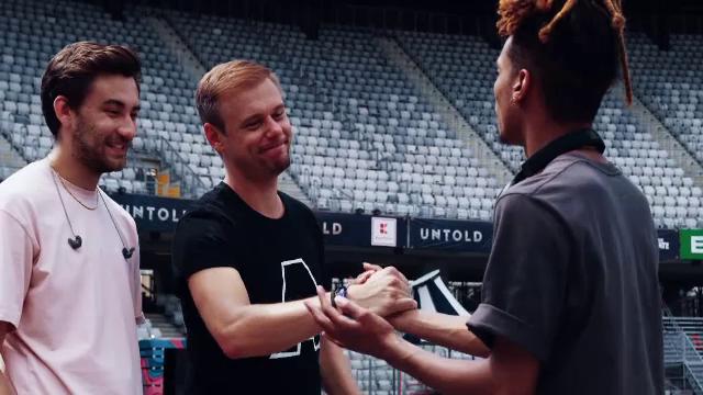 Videoclipul imnului UNTOLD, lansat oficial de Armin Van Buuren