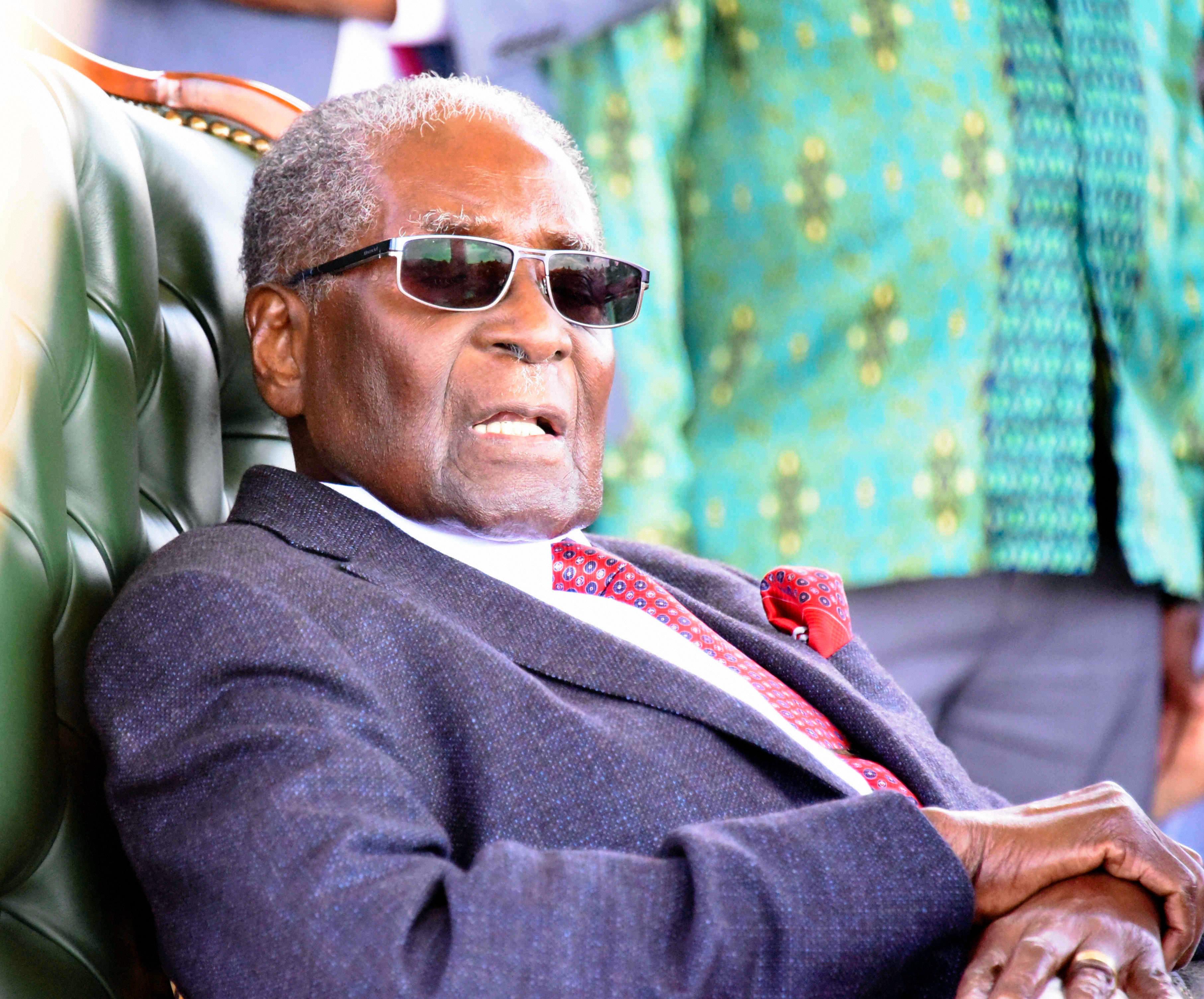 Robert Mugabe a fost declarat