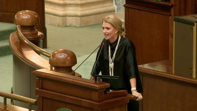 Alina Gorghiu: PNL nu va vota rectificarea în forma amendată de PSD