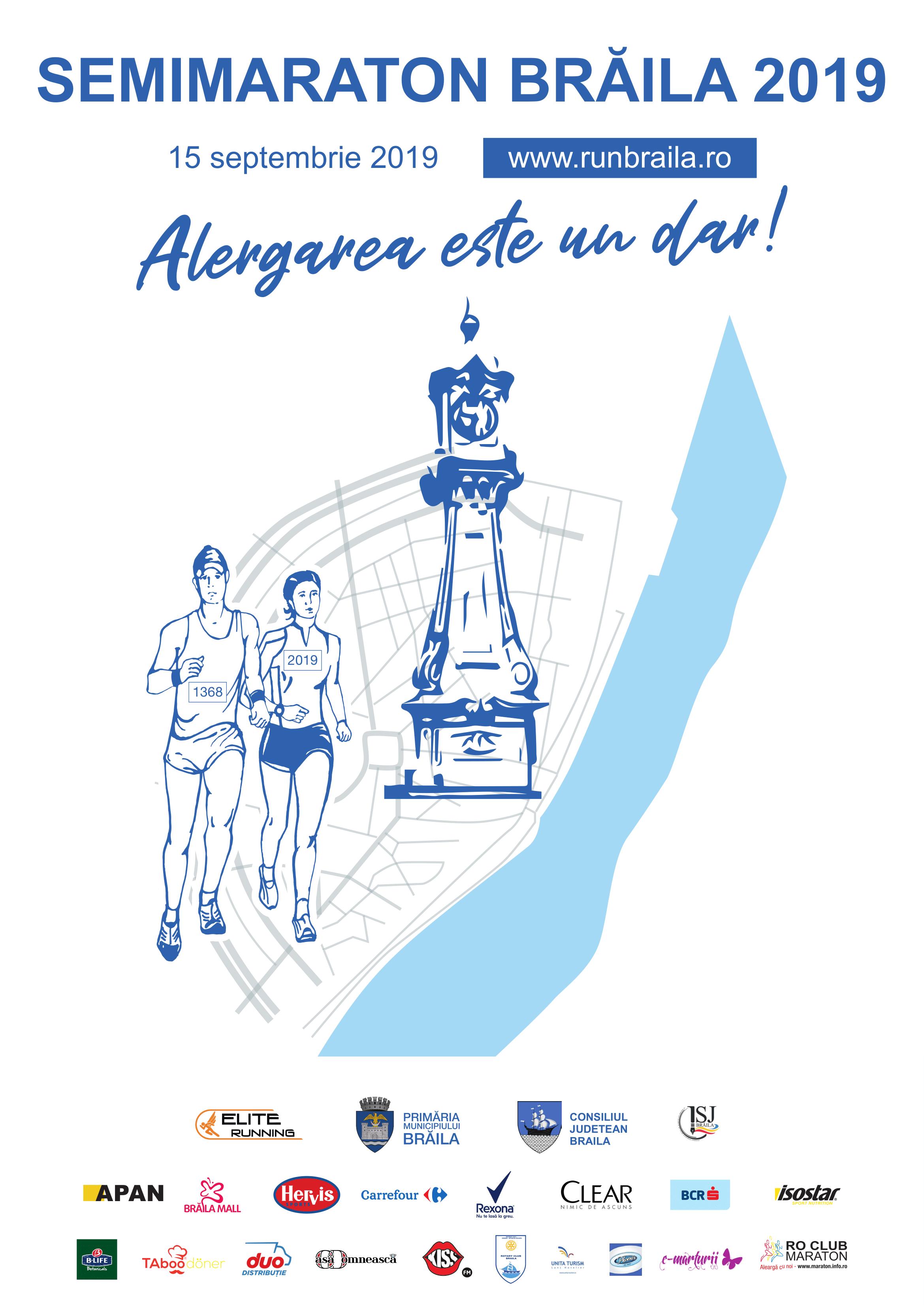 Prima ediție a semimaratonului caritabil de la Brăila