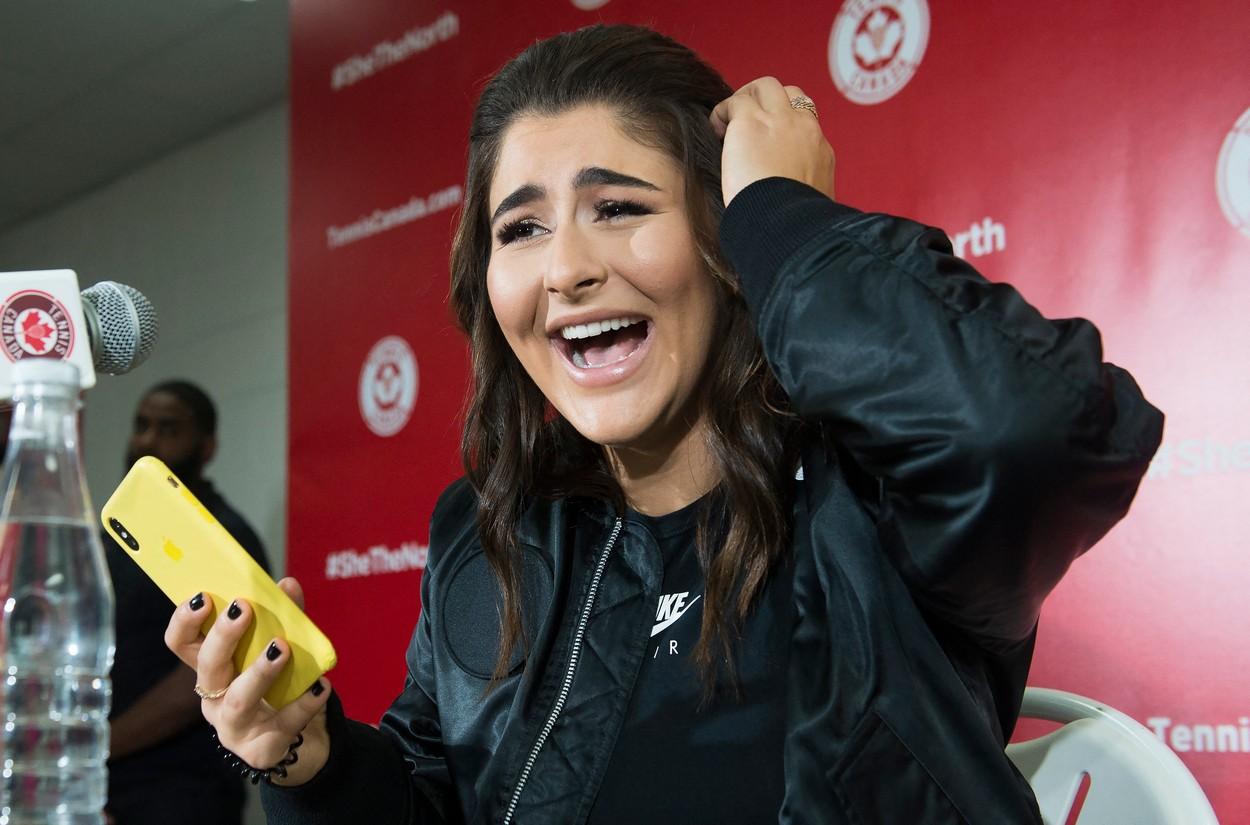 Mesajul primit de Bianca Andreescu de la Drake, după ce i-a reproşat că nu a felicitat-o