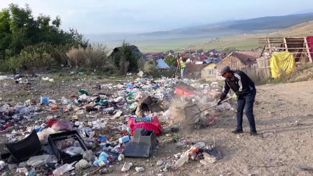 """Peisaj dezolant în Codlea, din cauza gunoaielor. Autoritățile se declară """"depășite"""""""