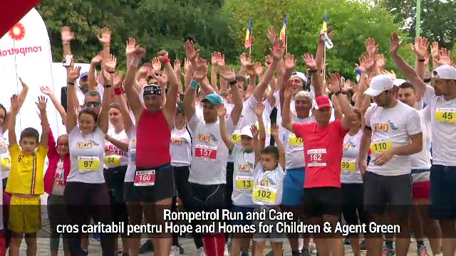 (P) Rompetrol Run and Care, cros caritabil pentru Hope and Homes for Children & Agent Green