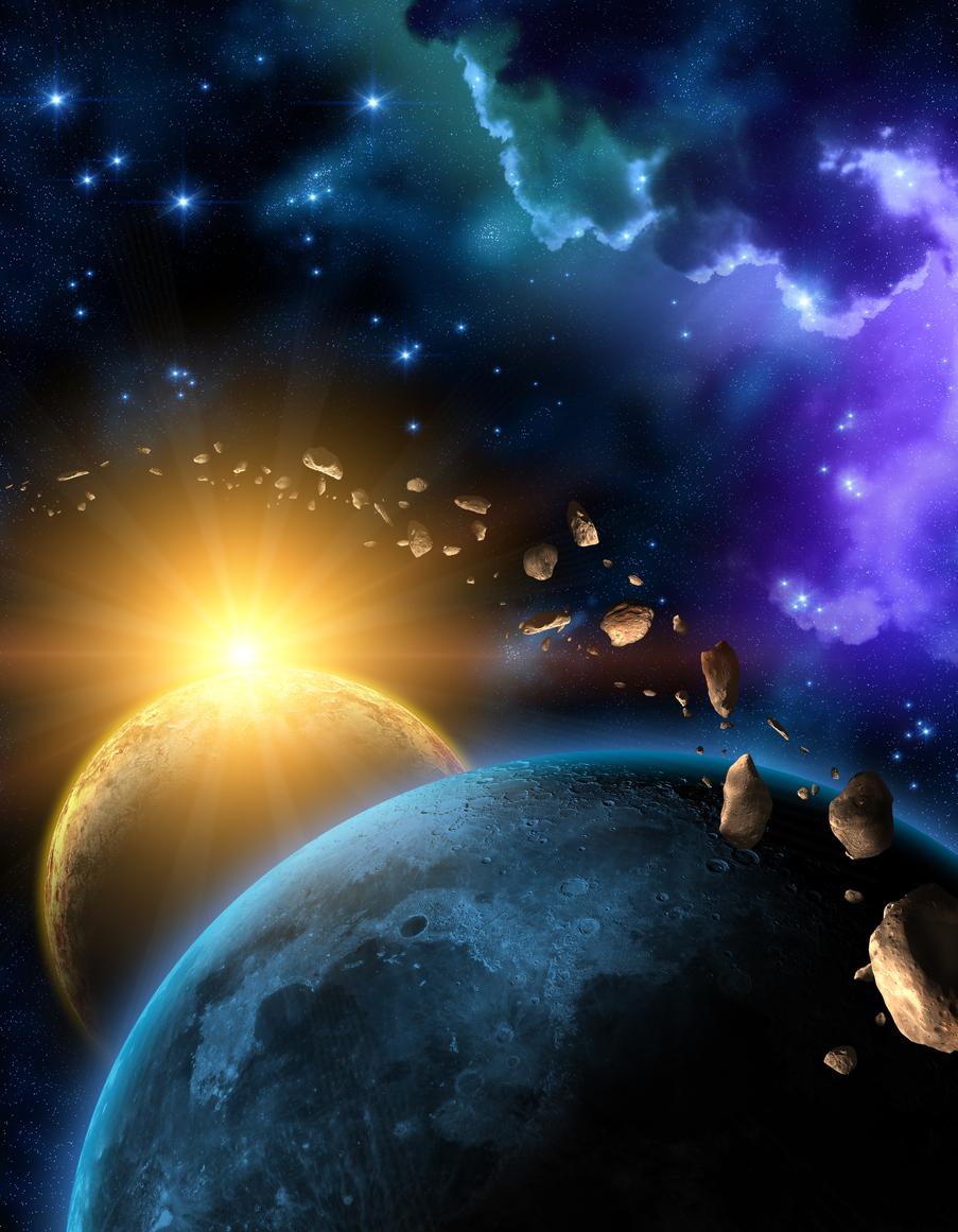 """Pământul a trecut printr-o Epocă de Gheață """"străveche"""", din cauza unui asteroid uriaș"""