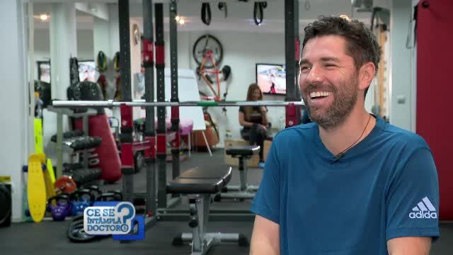 Alex Dima, despre sport și sănătate. Motivul pentru care păstrează o praștie în mașină