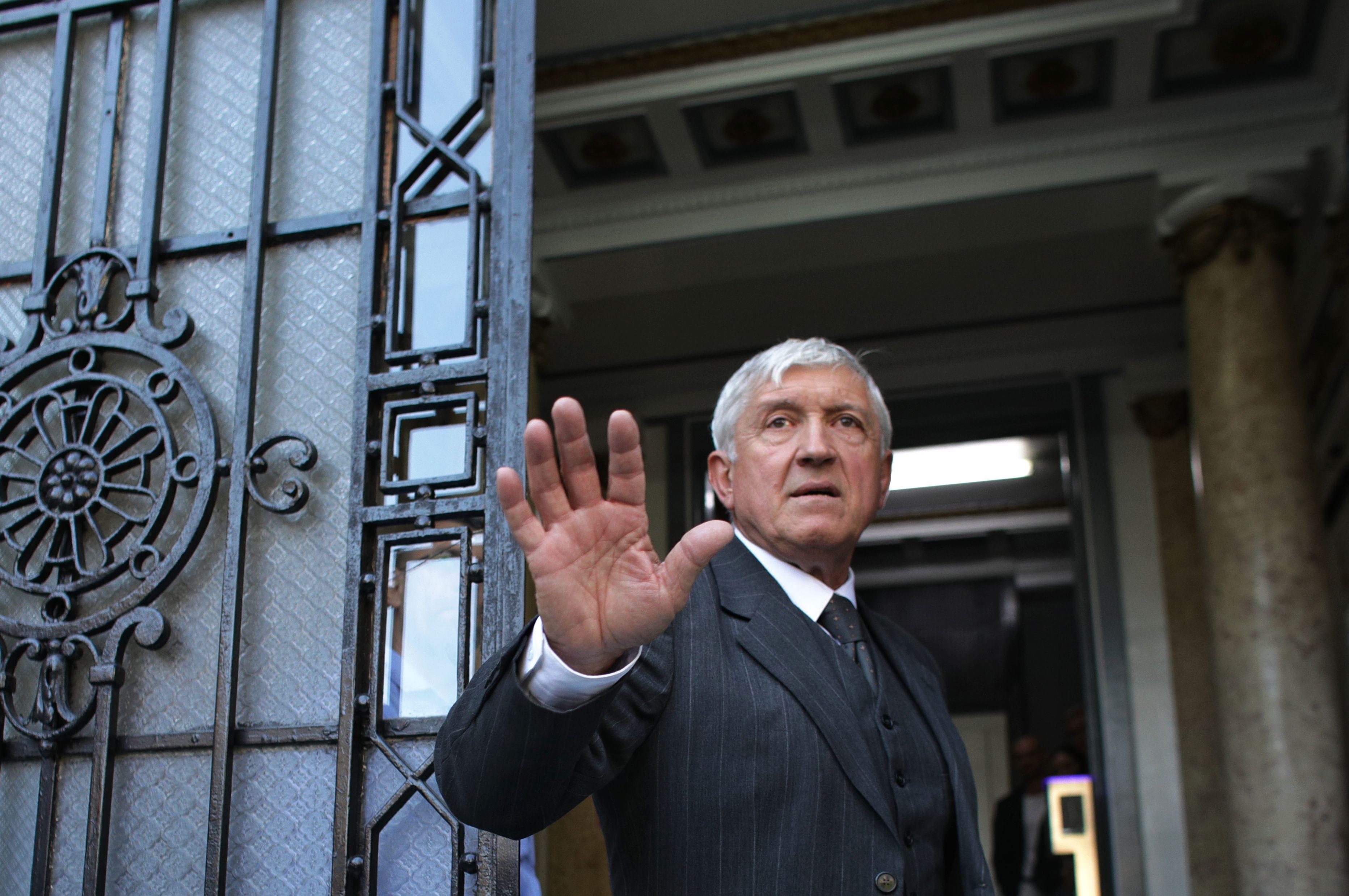 Mircea Diaconu şi-a depus candidatura la prezidențiale.
