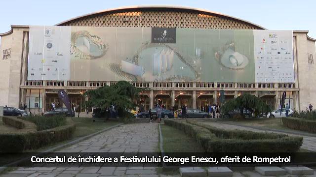 (P) Concertul de închidere a Festivalului George Enescu, oferit de Rompetrol