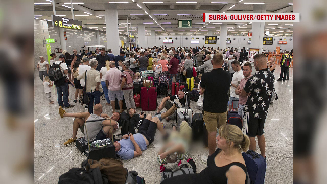 Mărturiile turiștilor rămași în aeroport. Ce au făcut șefii Thomas Cook înainte de colaps