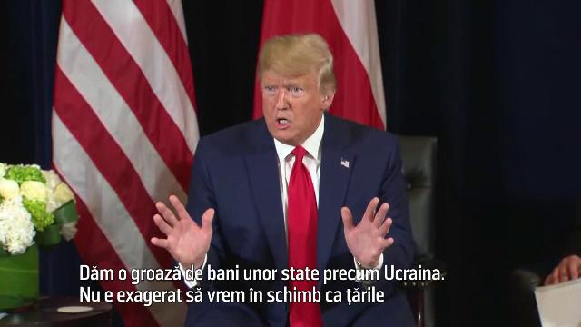Cum se apără Donald Trump, după anunţul iniţierii procedurii de destituire