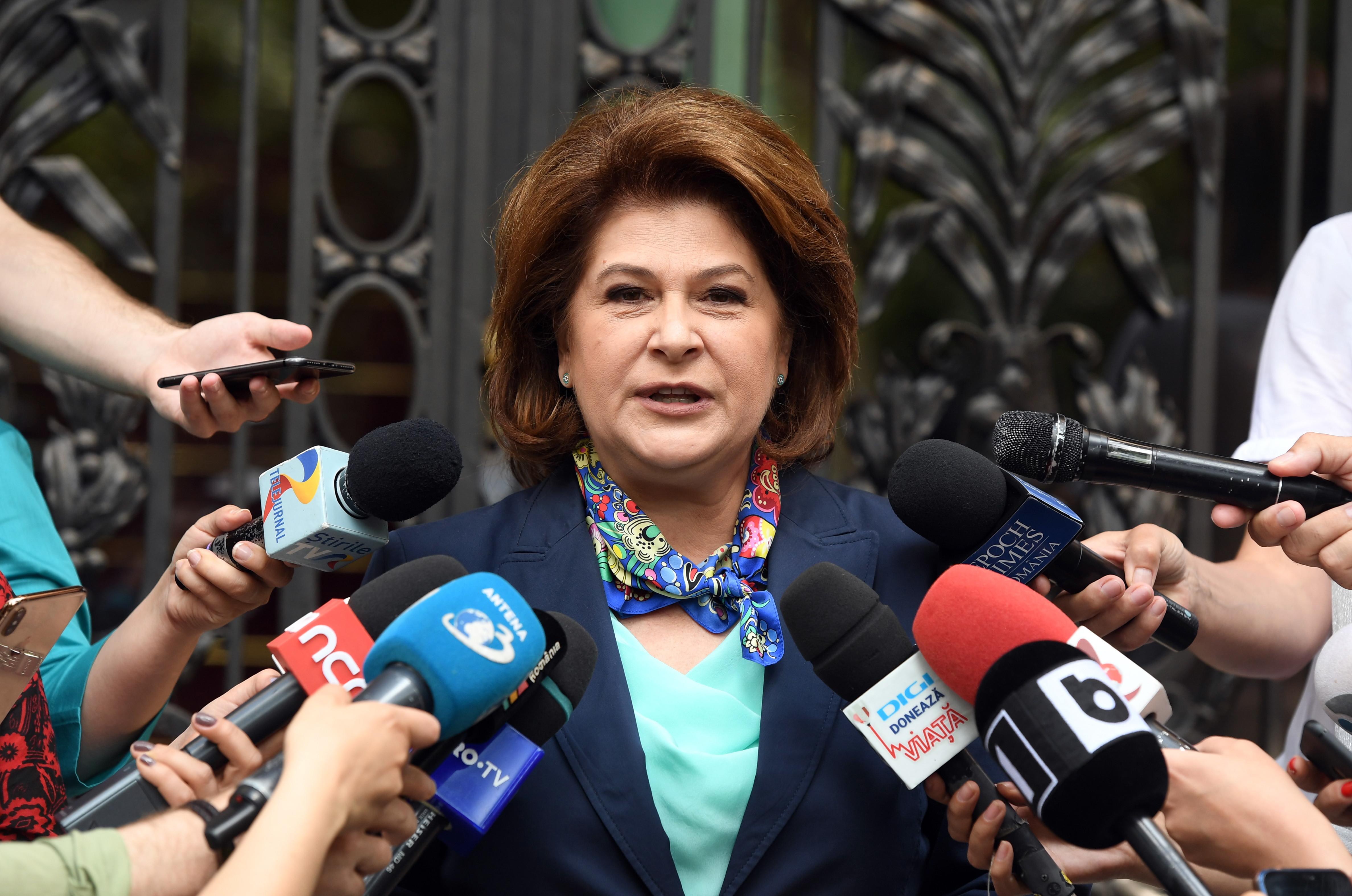 """Europarlamentarii PSD o susţin """"ferm"""" pe Rovana Plumb pentru funcţia de comisar european"""