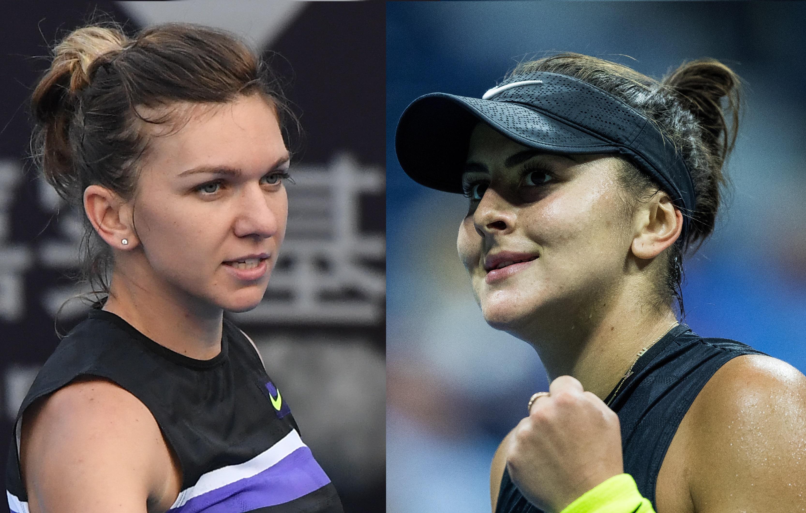 Simona Halep și Bianca Andreescu s-au calificat la Turneul Campioanelor