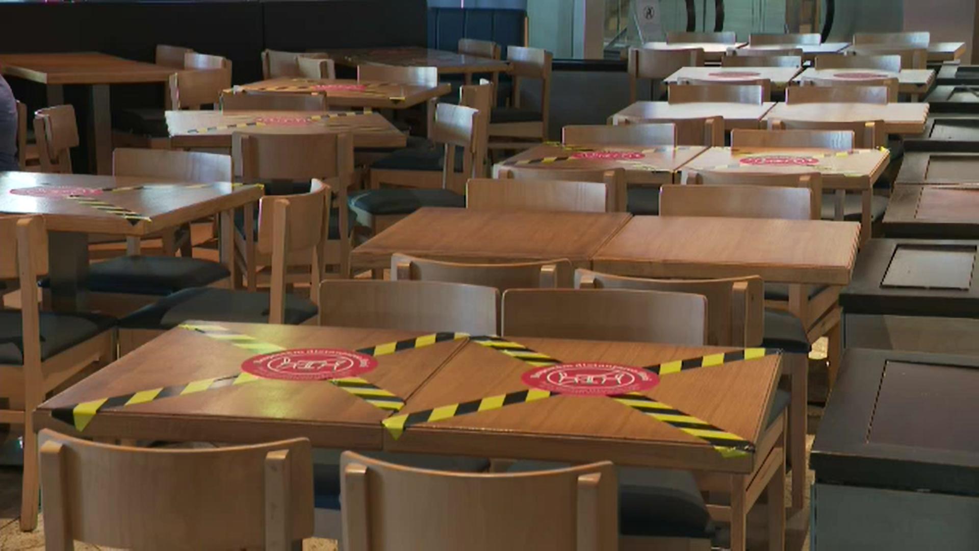 Restaurantele, cafenelele, sălile de spectacole şi de jocuri de noroc se închid în judeţul Ilfov
