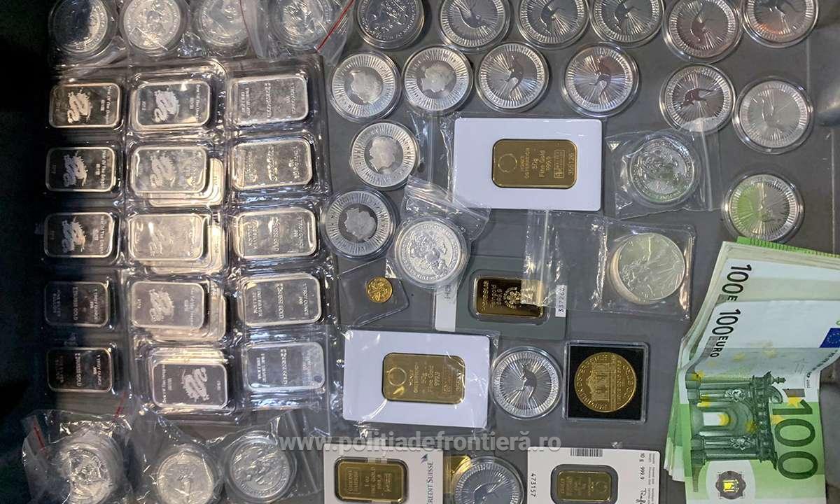 Român prins cu lingouri de aur și argint pe Aeroportul din Cluj-Napoca. Le-a ascuns în cele mai neobișnuite locuri
