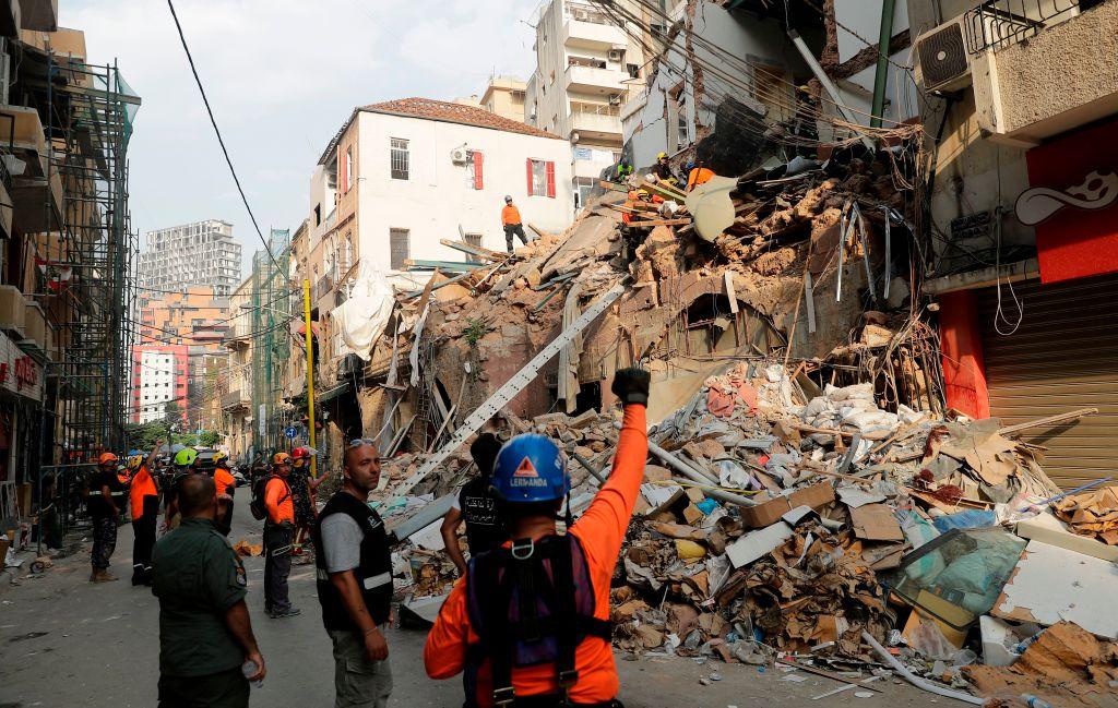 VIDEO. Explozie puternică în Beirut. Cel puțin patru morți, după ce un rezervor de combustibil a explodat