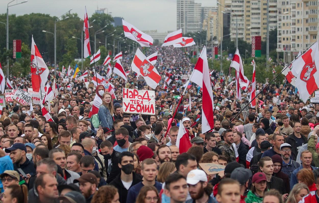 """Proteste în Belarus. Lukașenko dă un ultimatum: """"Nu vom lua prizonieri"""""""