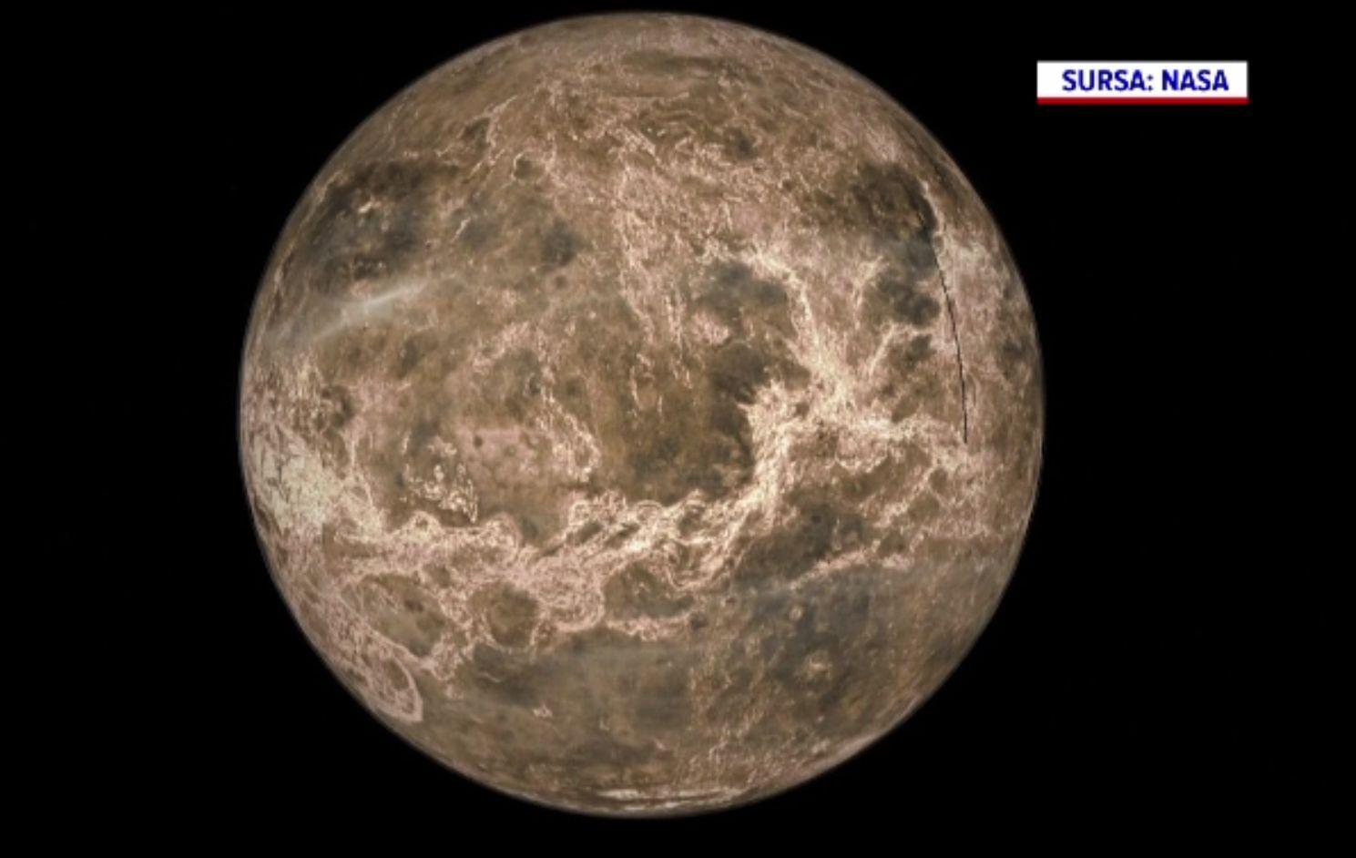 Atmosfera planetei Venus nu conţine urme potenţiale de viaţă