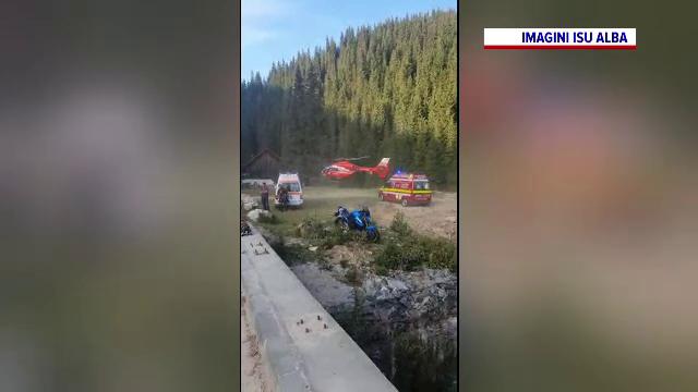 Un motociclist bulgar a murit, după ce a lovit un cap de pod pe Transalpina