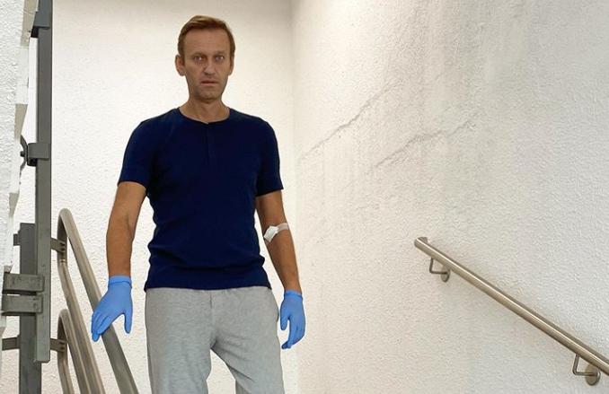 Kremlinul spune că Germania a refuzat solicitarea ambasadei ruse de a avea acces la Navalnîi