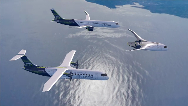 Airbus va produce avioane alimentate cu hidrogen lichid, cu emisii zero