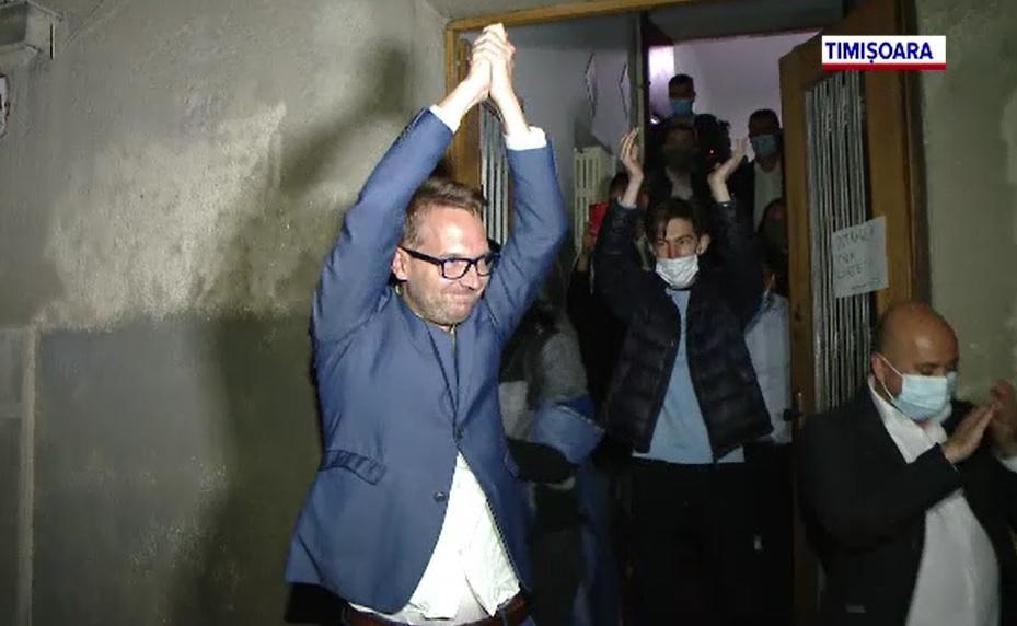 Rezultate finale alegeri locale 2020 Timiș. Dominic Fritz, noul primar al Timișoarei. Cine conduce Consiliul Județean