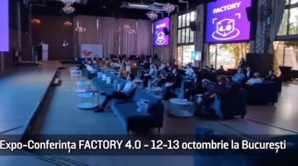 (P) Expo-Conferința FACTORY 4.0 - 12 -13 Octombrie 2021