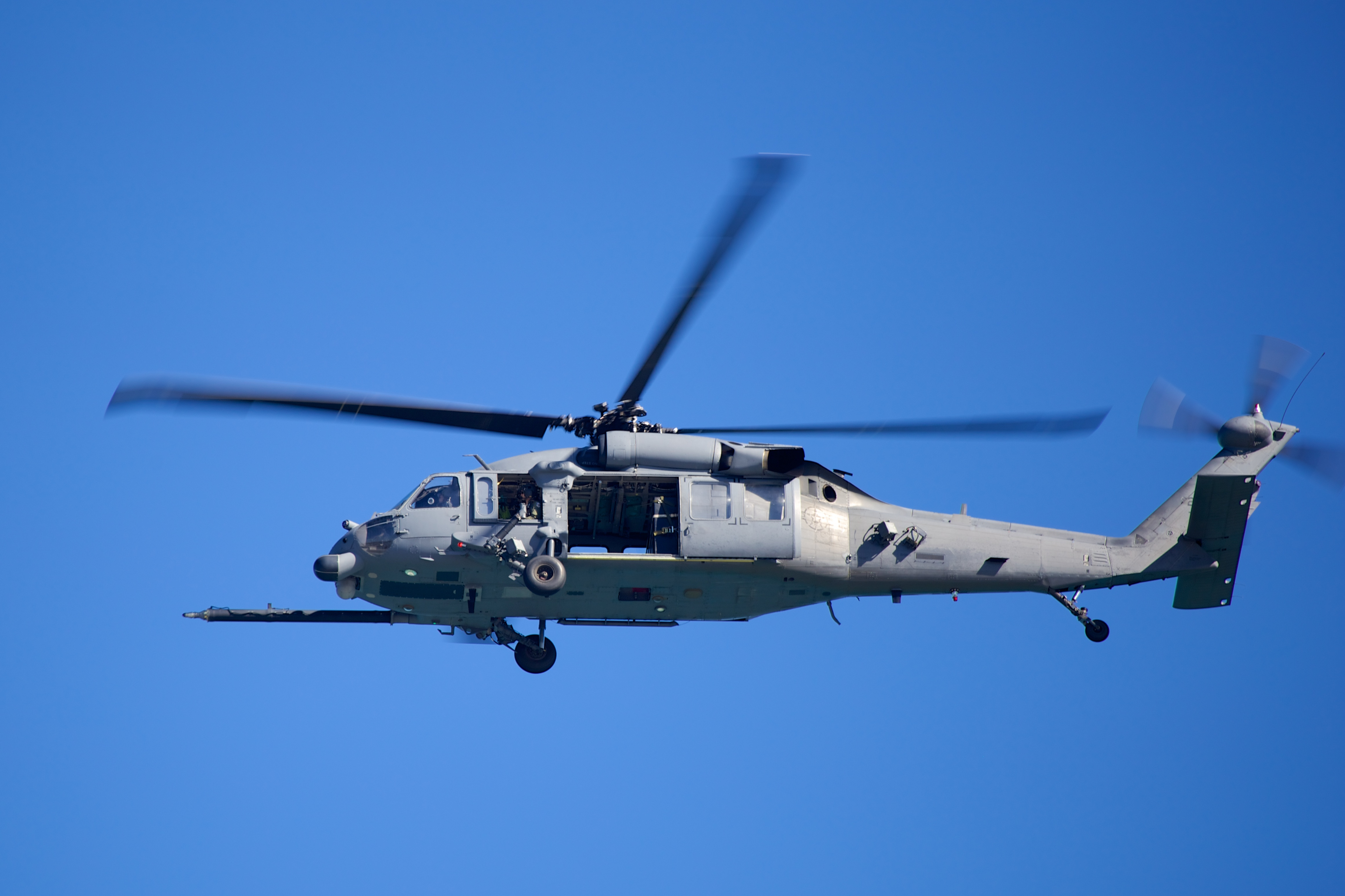 Un elicopter s-a prăbuşit în Pacific. Cinci membri ai echipajului daţi dispăruţi, declaraţi decedaţi