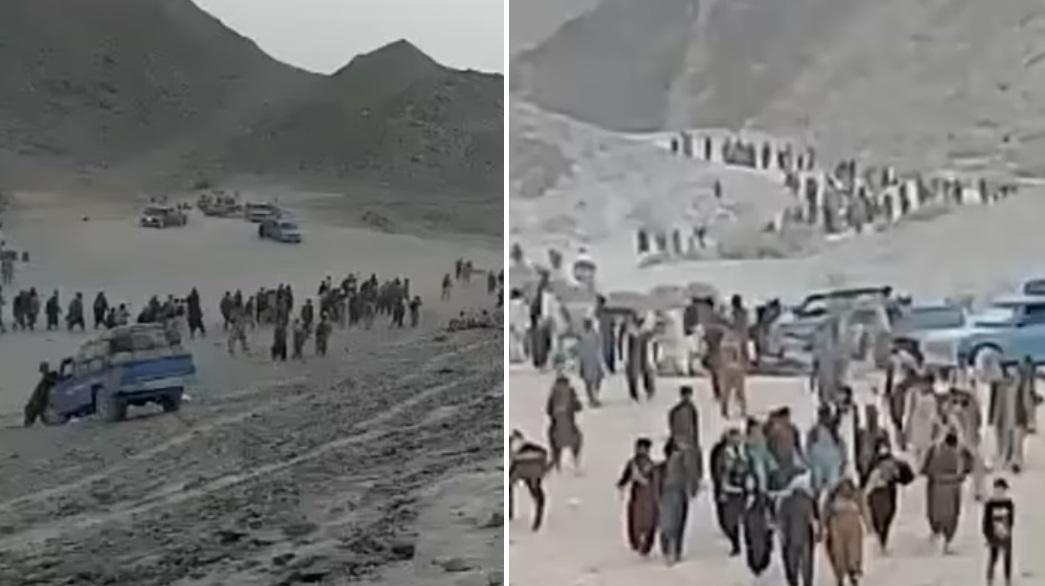 VIDEO. Migrație în masă din Afganistan, după plecarea trupelor NATO. Mii de oameni fug de talibani prin deșert