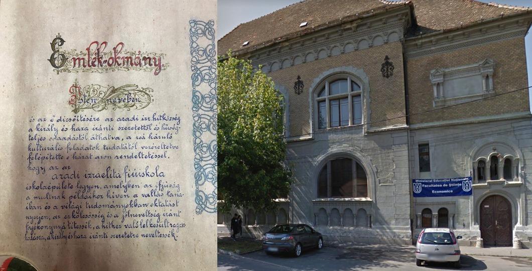 Descoperire neașteptată în timpul renovării unei foste școli din Arad. Ce se afla încastrat în perete