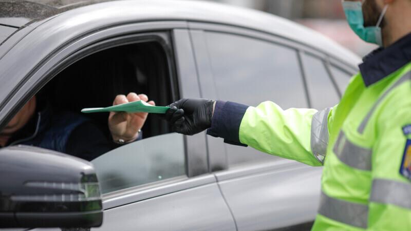 Cum a scăpat de amendă un șofer prins de radar cu peste 100 de km/h în Iași