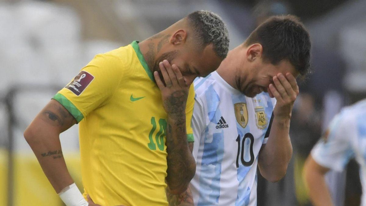 Video. Meciul Brazilia – Argentina a fost oprit după 5 minute de joc de autoritățile sanitare