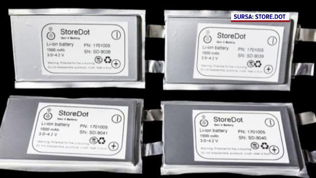 O companie israeliană a prezentat o baterie care ar putea fi cu adevărat revoluționară. Se poate încărca în 10 minute