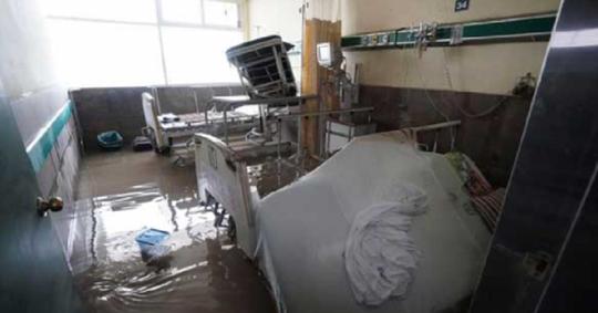 Inundații de proporții în Mexic. 17 pacienți ai unui spital, decedați