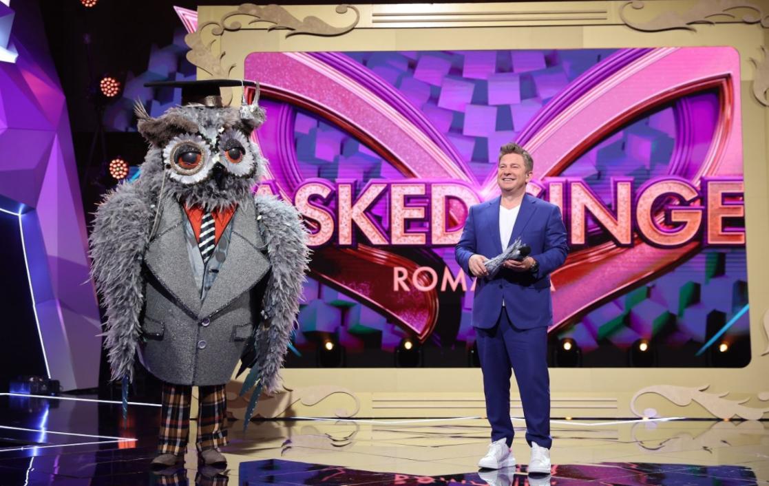 Masked Singer România. Cine a fost Bufnița din prima ediție sezonului 2
