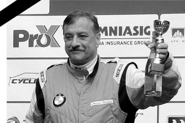 A murit Adrian Borțică, multiplu campion la automobilism