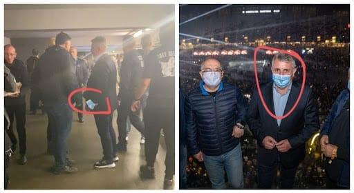 Ministrul de Interne, fără mască la Untold. Fotografia publicată de sindicatul polițiștilor Europol