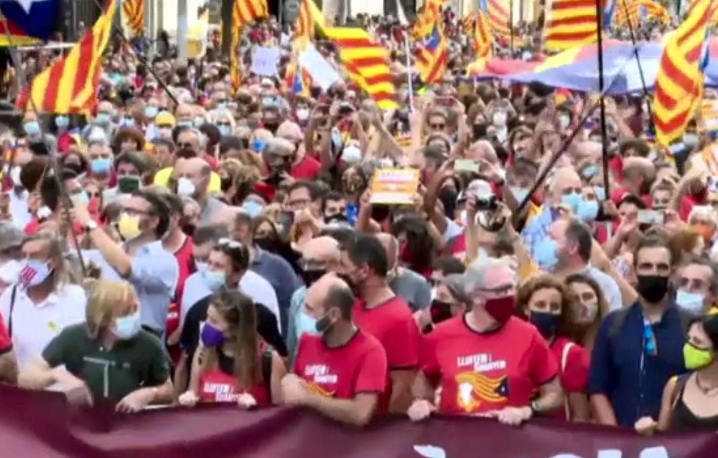 Protest al separatiștilor, în weekend, la Barcelona. Ce vor să demonstreze la patru ani de la încercarea de secesiune