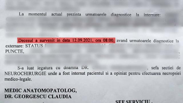 Un pacient care era internat la Spitalul Județean din Craiova, declarat mort, deși este în viață. Cum a fost posibil