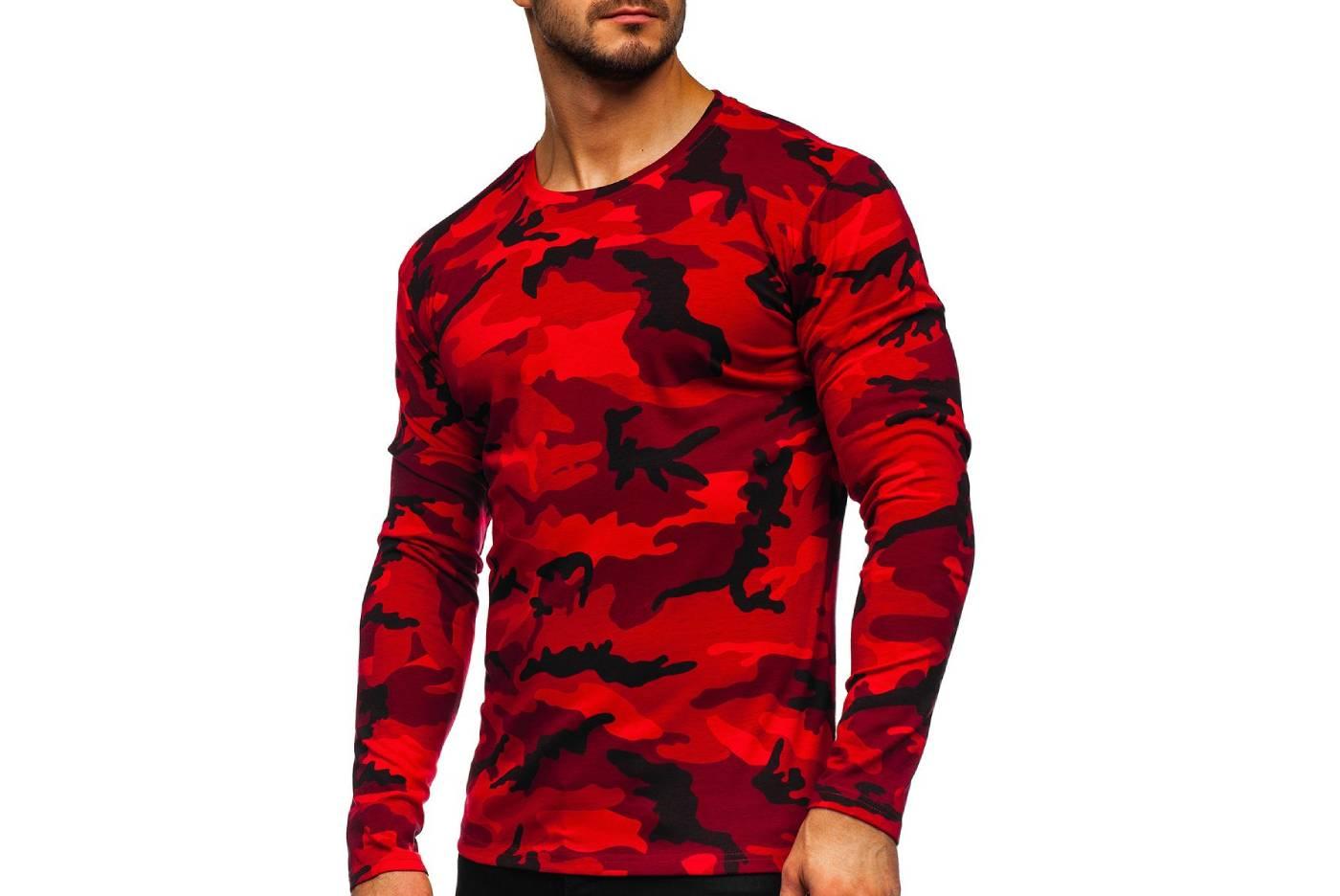 (P) Mânecă lungă henley pentru bărbați – alege culoarea perfectă