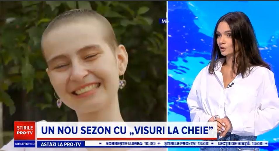 """""""Visuri la cheie"""". Povestea impresionantă a Simonei, puștoaica bolnavă de cancer, fără un picior, care ne învață să zâmbim"""