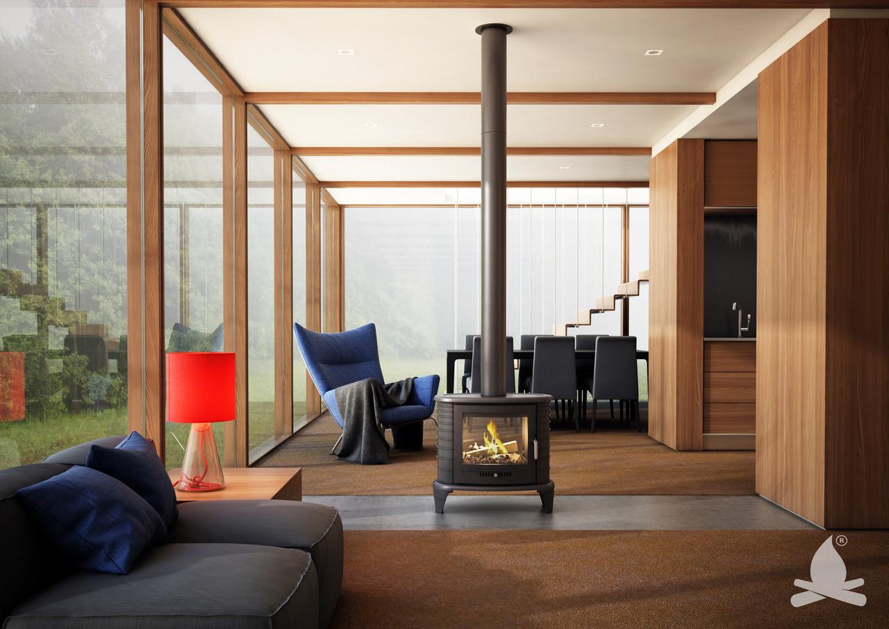 (P) Noile modele de sobe rustice reînvie farmecul vieții simple din casa caldă de la țară