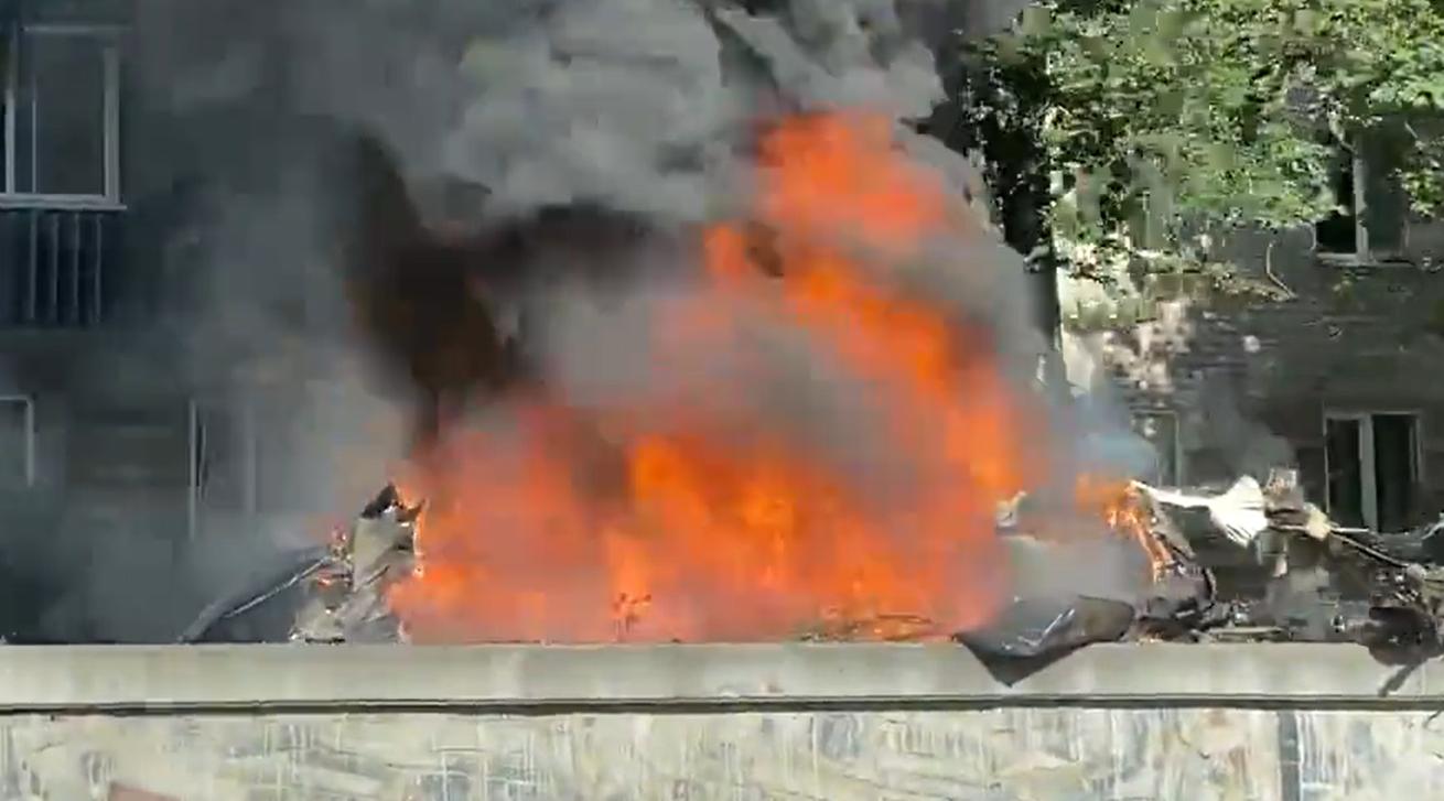 VIDEO. Posibil atentat teorist în Ucraina. Două persoane au murit într-o explozie