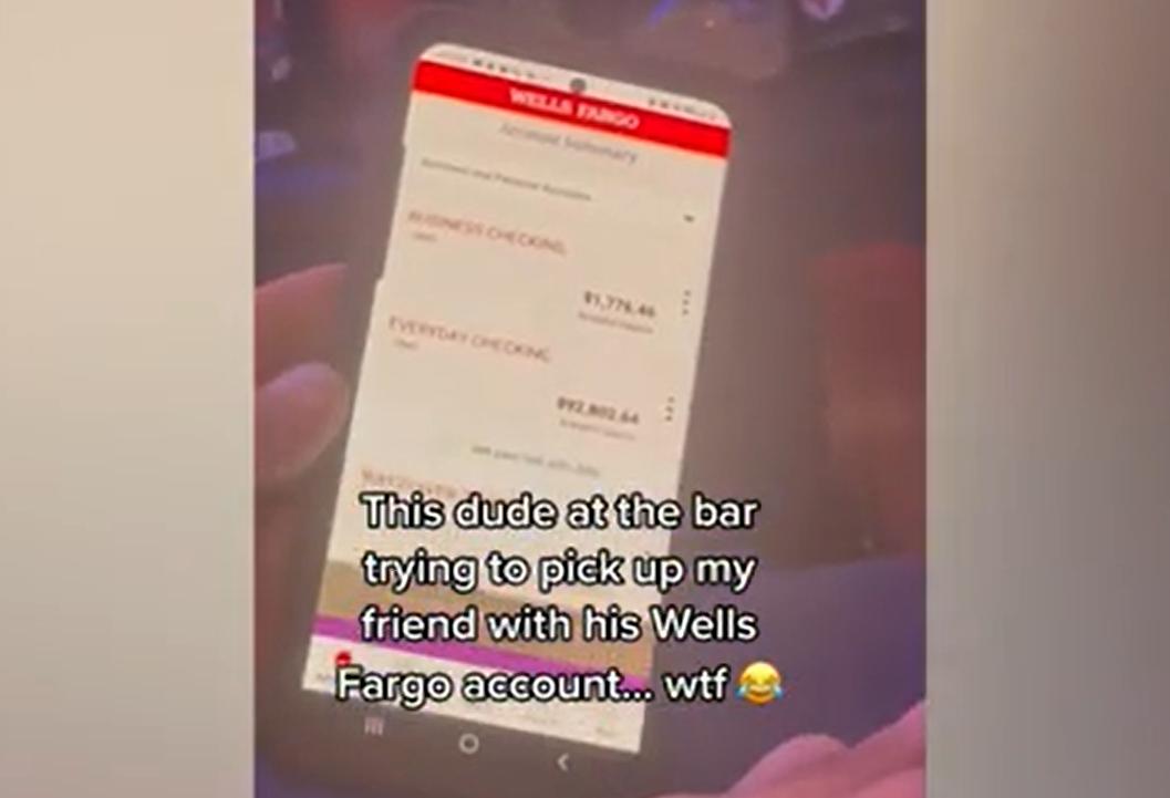 Un bărbat a încercat să impresioneze o femeie cu suma uriașă de bani pe care o avea în cont. Strategia a eșuat complet