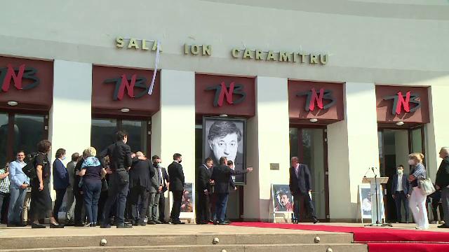 """Sala mare a TNB va purta numele lui Ion Caramitru. """"Vom juca seară de seară în sala ce-ţi poartă numele"""""""