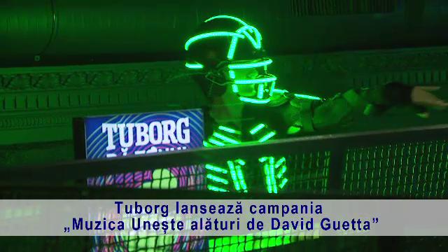 (P) Tuborg lansează campania Muzica Unește alături de David Guetta