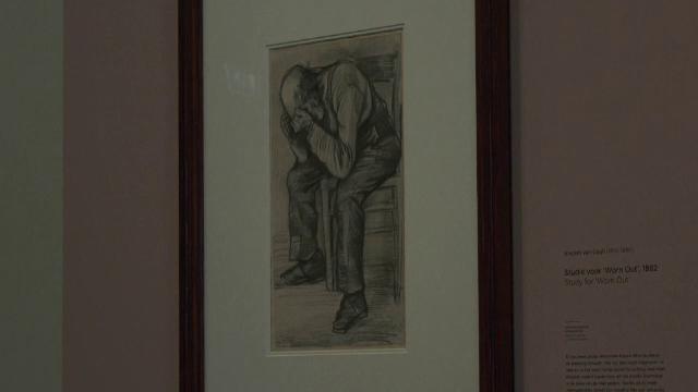 Un desen de Vincent van Gogh, descoperit recent, va fi expus într-un muzeu din Amsterdam