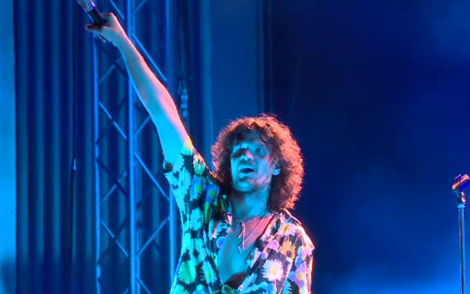 Vama cântă la Cota 2000, deasupra orașului Sinaia. Concert într-un decor de poveste
