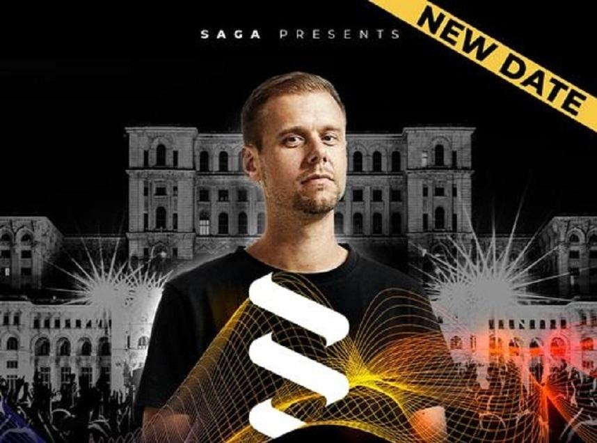 Spectacolul lui Armin van Buuren din București a fost amânat din cauza pandemiei. Când a fost reprogramat