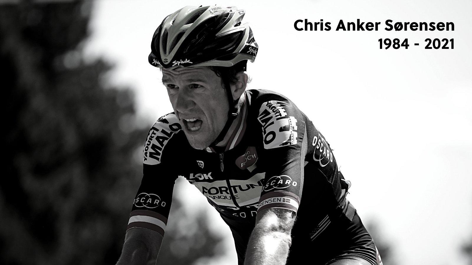 Fostul mare ciclist Chris Anker Sorensen a murit. A fost lovit de o mașină când se plimba cu bicicleta