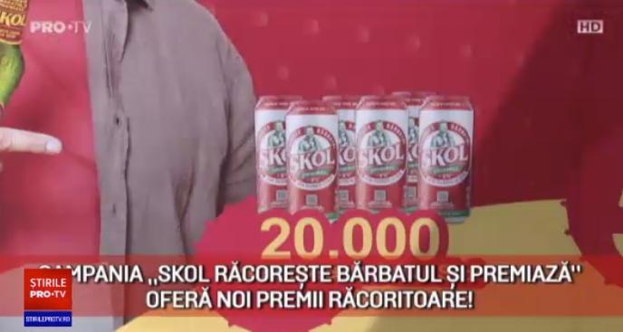 """Campania """"Skol răcorește bărbatul și premiază"""" oferă noi premii răcoritoare"""