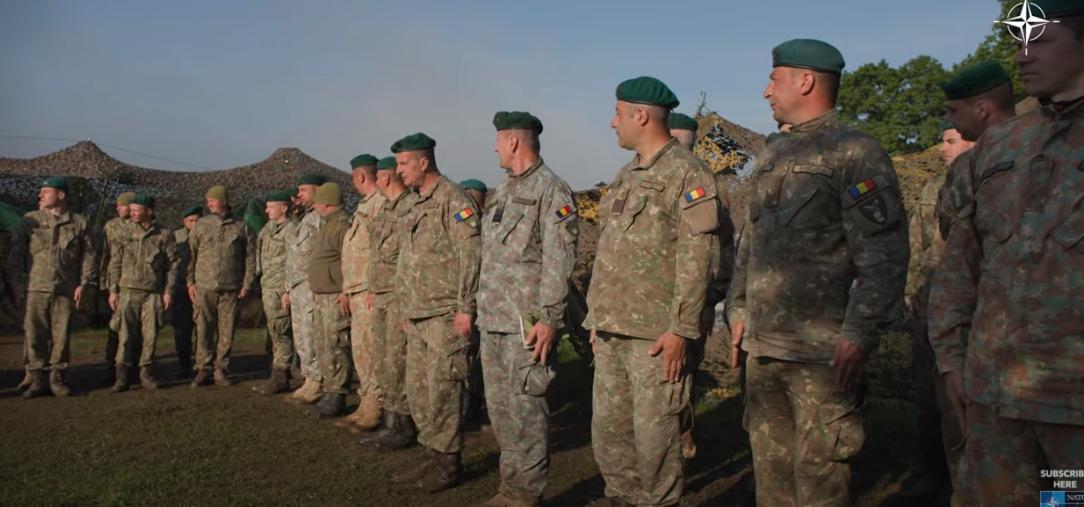 VIDEO. Cum este să fii soldat într-un exercițiu NATO? Un american laudă trupele românești